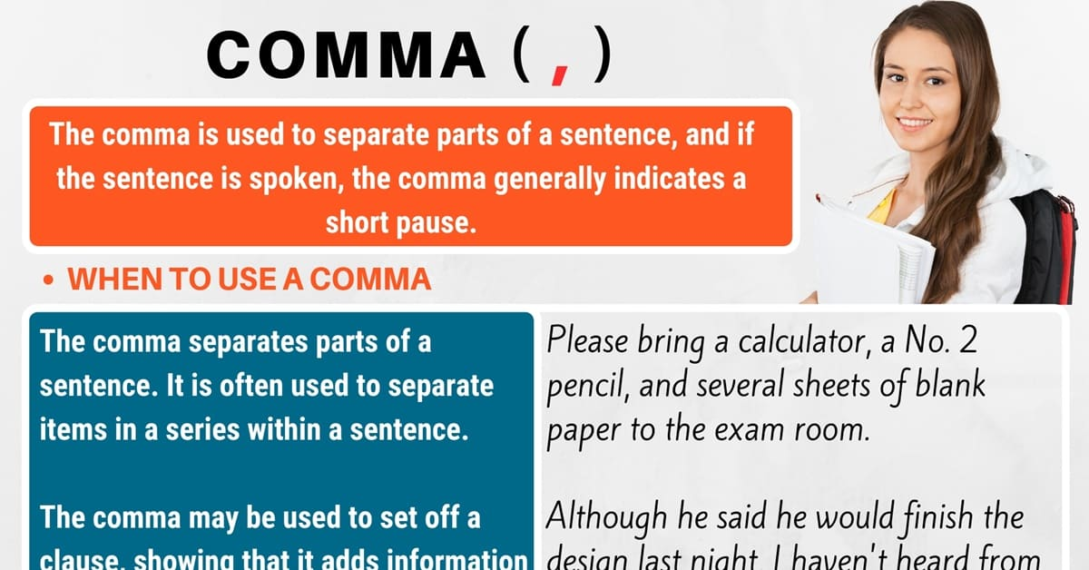 comma     when to use commas with useful comma rules